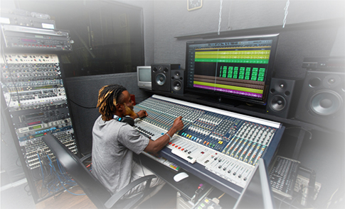 mixing-engineer-arbeit